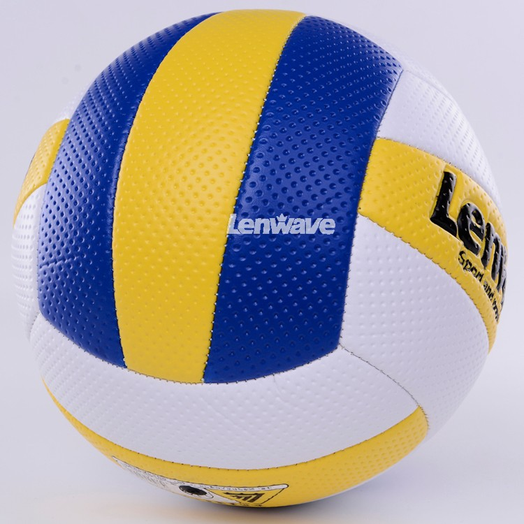 aa488f6b8c Free Shipping Volleyball Size 5 Game Thickened Soft PVC Volley Ball Lenwave  Brand Indoor Compitition Volleyball