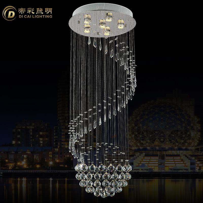2015 New Modern Crystal Chandelier Light Fixture Crystal
