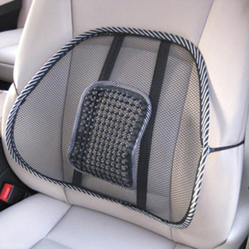 chair back brace portable baby high hook on mesh lumbar support for office car seat cool cushion