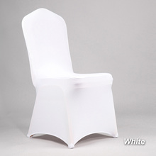 cheap black chair covers for sale wicker desk and buy white spandex get free shipping on aliexpress com 100pcs stretch lycra cover christmas party wedding banquet dining