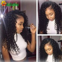 Queen Hair Products Peruvian Kinky Curly Virgin Hair