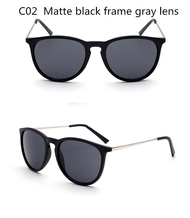 Óculos de sol para Mulheres Homens Retro Óculos Redondos Metal Frame Perna  Óculos 5 Cores Dos Óculos De Sol 8aba5fd0ef