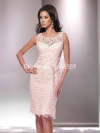 Knee Length Lace Mother Of The Bride Dresses 2015 Spring ...