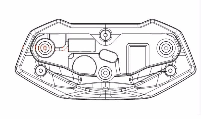 √Universal Tachometer ATV Motorcycle LCD Digital