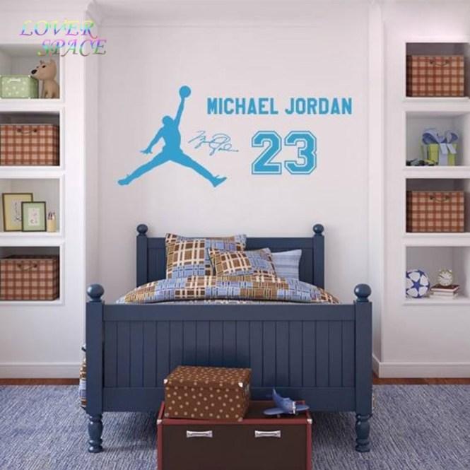 Creative Home Decor Basketball Superstar Michael Jordan Kraft Poster Wall Stickers For Living Room Mural Art