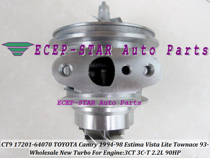 Turbo chra ncleo cartucho ct9 17201 64070 17201 64071 turbina ct9 17201 64070 turbo turbine turbocharger for toyota camry 1994 98 estima 1992 fandeluxe Image collections