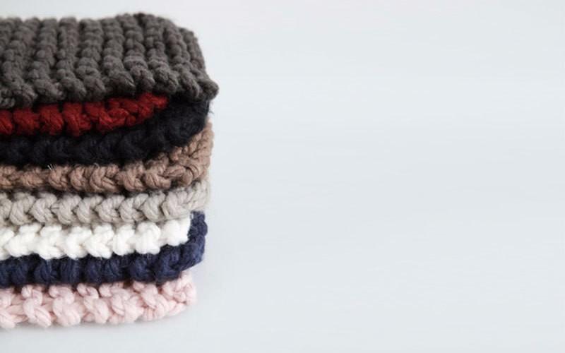 ᗚSupsindy bufanda de invierno de punto de lana dulces colores ...