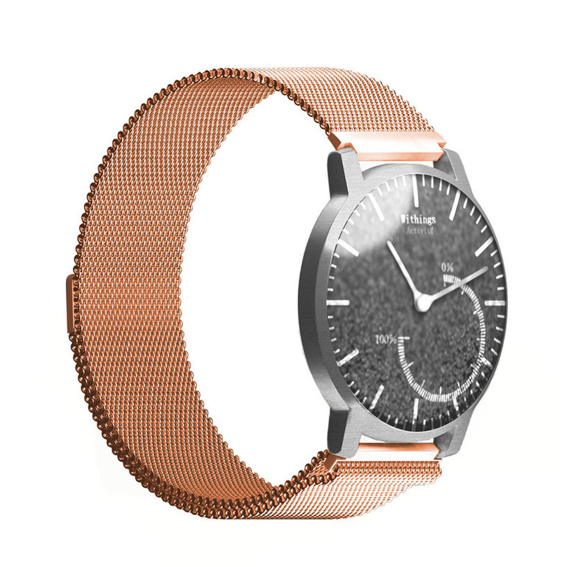 aeProduct.getSubject()  Sizzling Sale OTOKY Milanese Stainless Metal Watch Band Strap Bracelet For Withings Activite Sporting Items equipment Dec21 HTB1DSyXOVXXXXXYXFXXq6xXFXXX5