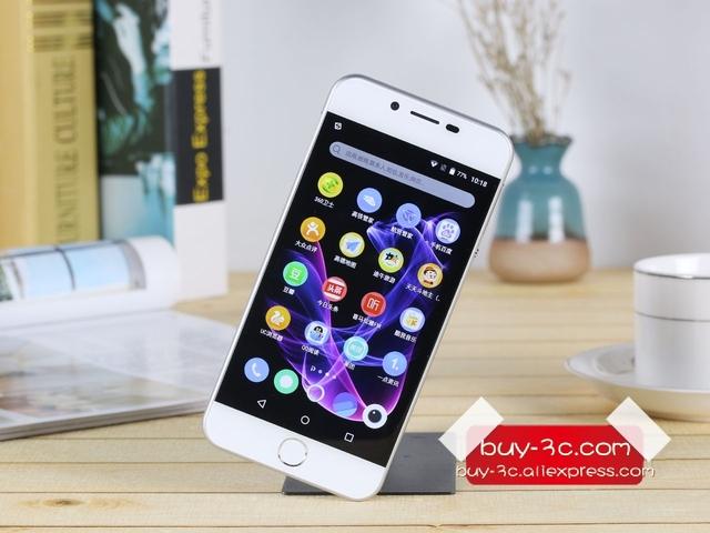 Original PPTV V1 MT6735P CPU 2GB RAM 16GB ROM 5.0 Inch HD 1280*720 Pixel 4G FDD-LTE Fingerprint Dual SIM card Android Phone