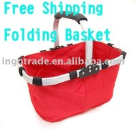 Free shipping kitchen storageFolded basket Collapsible ...