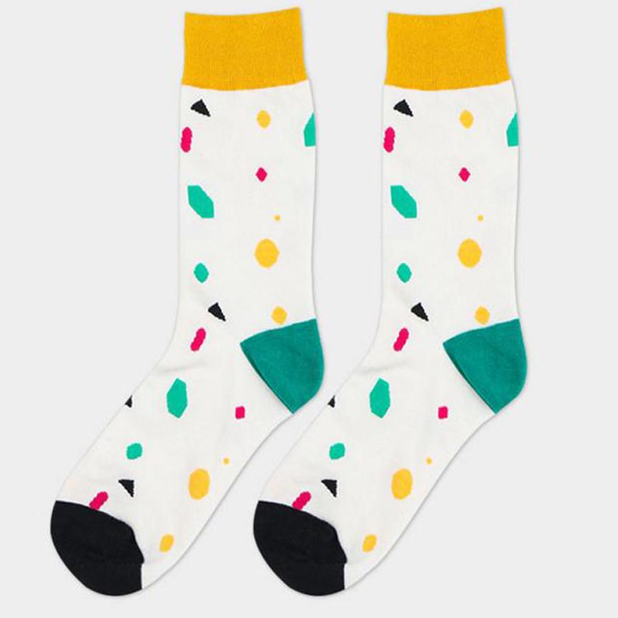 ᗑHombres calcetines de algodón calcetines largos tendencia últimos ...