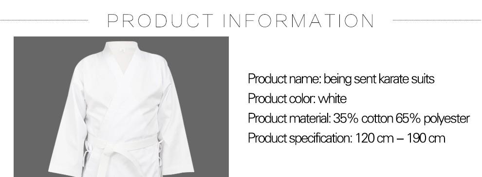 Karaté Suit Haut Qualité Japonais Coton Arts Martiaux Karaté Uniforme Spedster