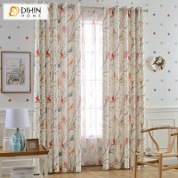 DIHIN 1 PC Garden Birds and Tree Curtains For Living Room ...
