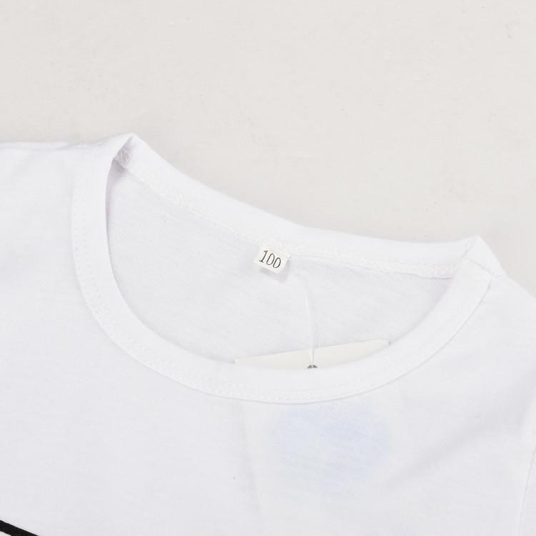 ✓2017 Nouveau Dessin Animé Enfants T-Shirts D été Style 7 ... ea47037179a4