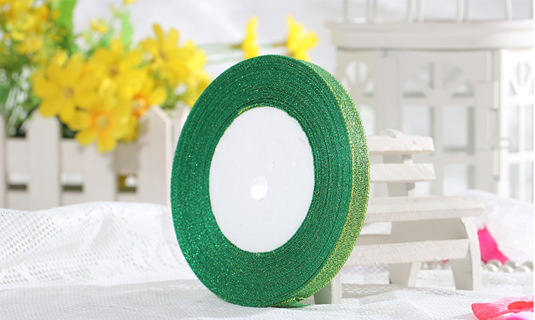 7a58da113 1 cm Colorido Pó Glitter Fita do Ouro/prata 15 Cores Presentes Envoltório  Casamento Colorido Riband Fita Roupas Acessórios 44 m/lote