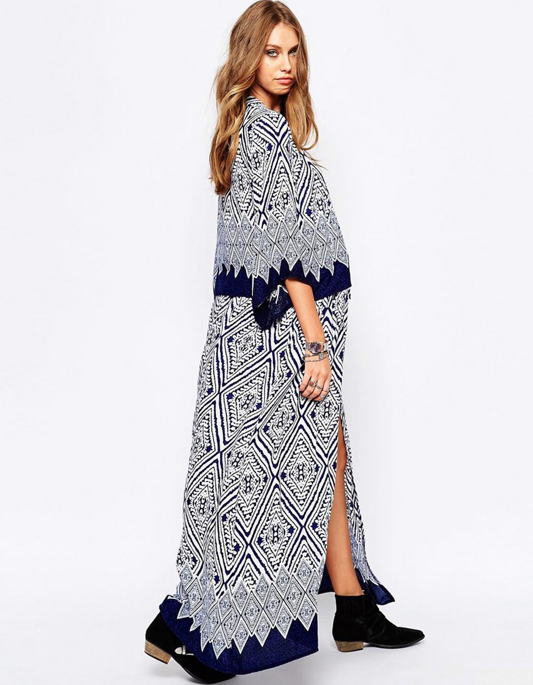Kimono Long Femme