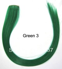 HOT Colorful Hair Extension Highlight Clip in Hair ...