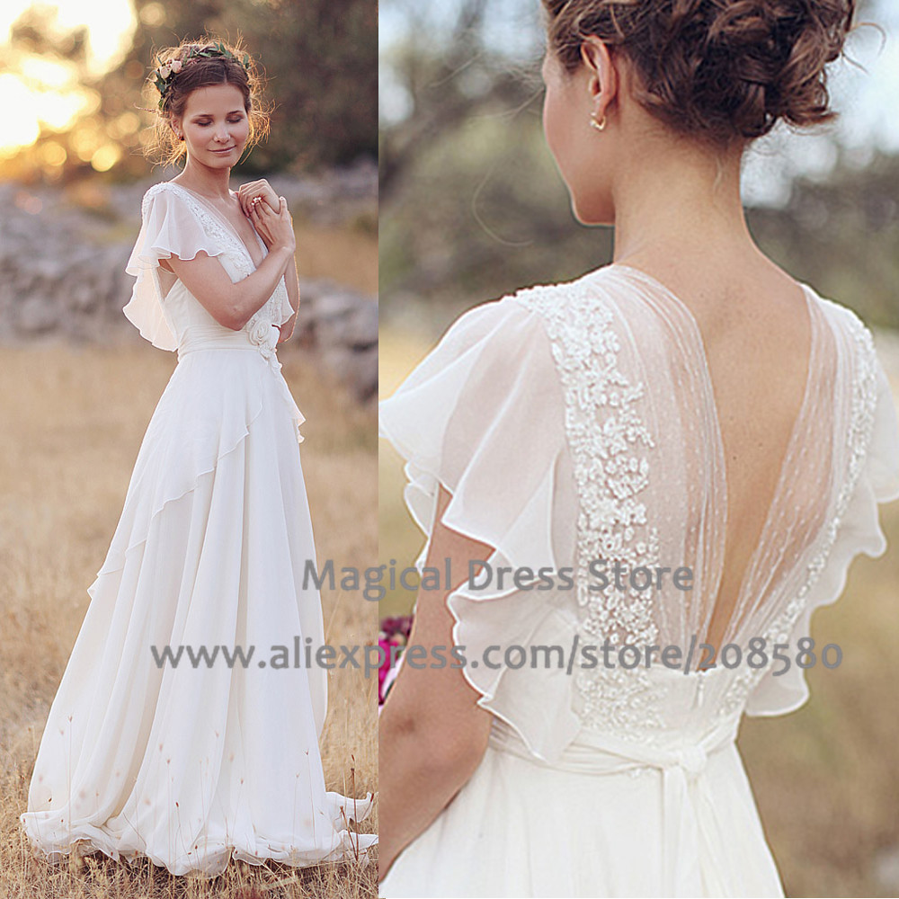 f5443ed1b3bd1 Summer 2016 Country Western Wedding Dresses Plus Size V