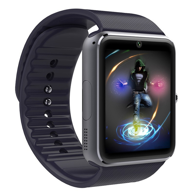 Smart Watch GT08 Часы С Сим Слот Для Карт Нажмите Сообщение Подключение Bluetooth Android Телефон Лучше, Чем Smartwatch DZ09
