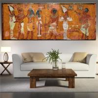 Egyptian Decor Canvas Painting Oil Painting Wall Pictures ...