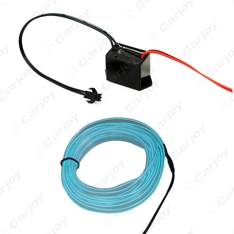 ᗚ30pcs 3M 9-color Flexible Moulding EL Neon Glow Lighting Rope ...