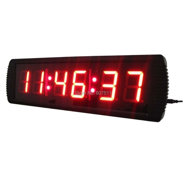 Seconds Countdown LED Clock