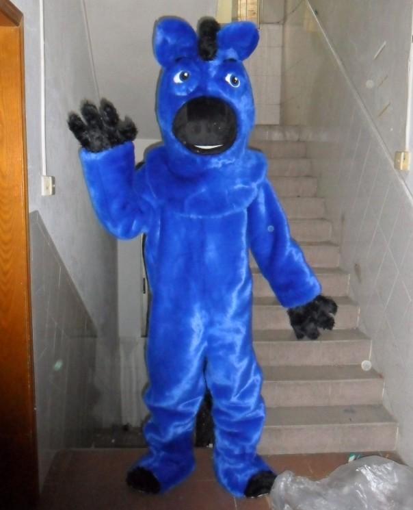 ₩Caballo azul traje de la mascota de adultos traje de caballo - a439 4430d2ffa74a