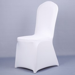 Wedding Chair Covers Alibaba Recliner Riser Chairs For The Elderly Colour White Cheap Cover Spandex Lycra Elastic Strong Pockets ...