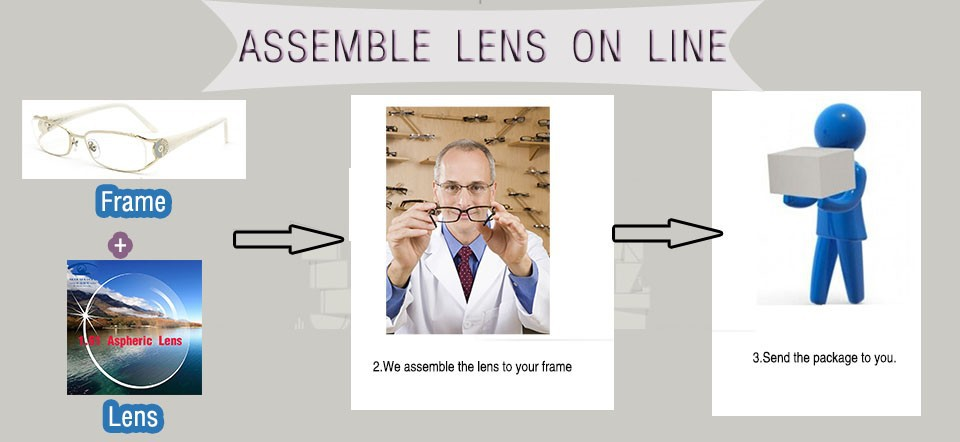 7ed45306dc5c0 ... seu lado da lente, mas nós podemos fornecer o frete assmebly.se você  precisa a lente de prescrição, por favor envie a dioptria, PD e detalhes  para nós.