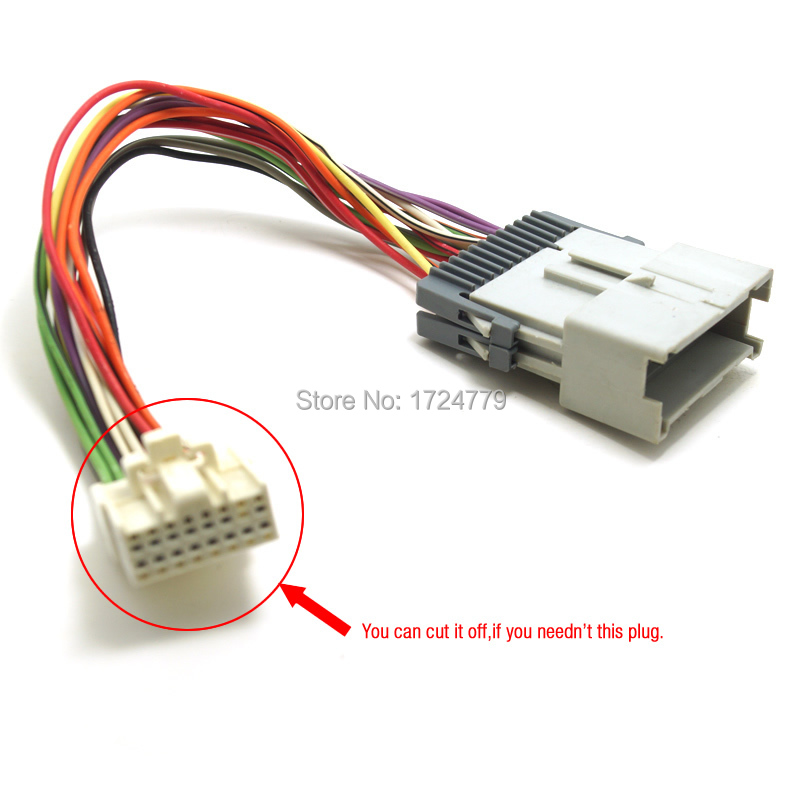buick stereo wire harness