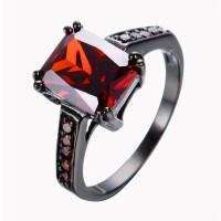 Popular Garnet Promise Rings
