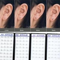 Wholesale 20 Pairs/Box Mini Earrings 2mm/3mm/4mm/5mm ...