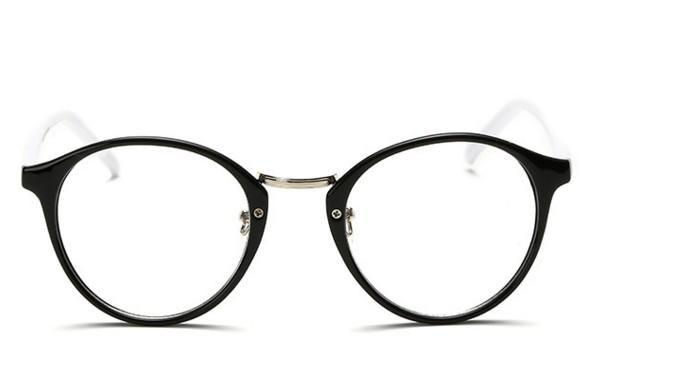 NºN66ヴィンテージブランドデザイン平野男性女性メガネラウンド眼鏡光学 ... 805f99df12
