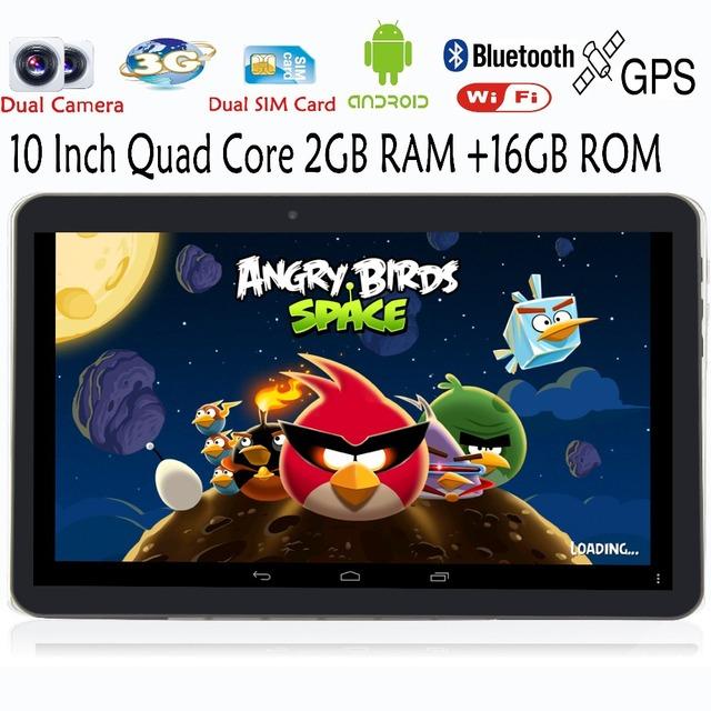 Оригинальный 10 дюймов 2 Г 3 Г Телефонный Звонок Quad core Android Таблетки пк 2 ГБ 16 ГБ Две сим-карты Смарт Tab MiniPad планшетный пк 7 8 9 10.1