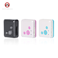 Mini Personal GPS Tracker for Kids Child Locator RF V16 SOS Communicator Child Tracker Free Web