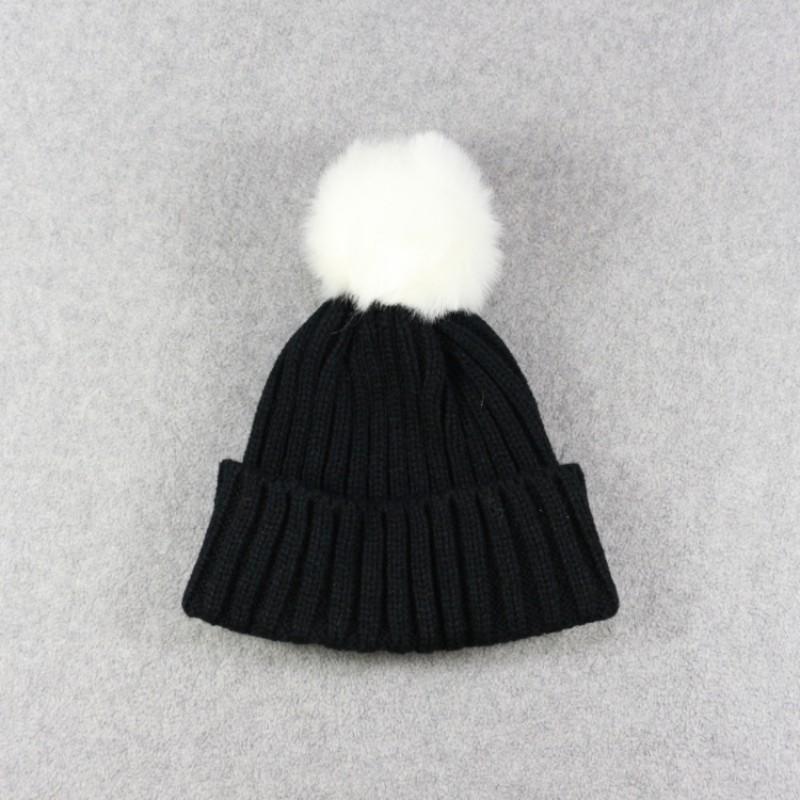 ee7ea32cd4f6 ộ ộ ༽Enfants D hiver Tricoté Chapeau Warmmer Filles Garçons Bonnets ...