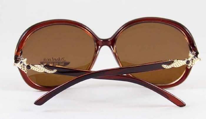 0e4c368046e9f ⑥Moda oversized gafas de sol mujer Fox diseñador polarizado nuevas ...