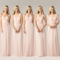 Tulle Convertible Bridesmaid Dresses strapless gown