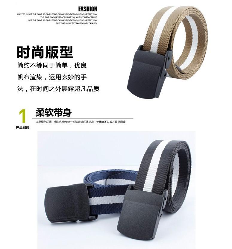 Hommes de haute résistance en nylon ceinture en plastique boucle de  sécurité vérifier vitesse sec ceinture hommes et femmes en plein air anti  allergie ... b85fe4ad3ae