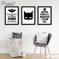 batman poster wall poster home decor Canvas Art Print ...