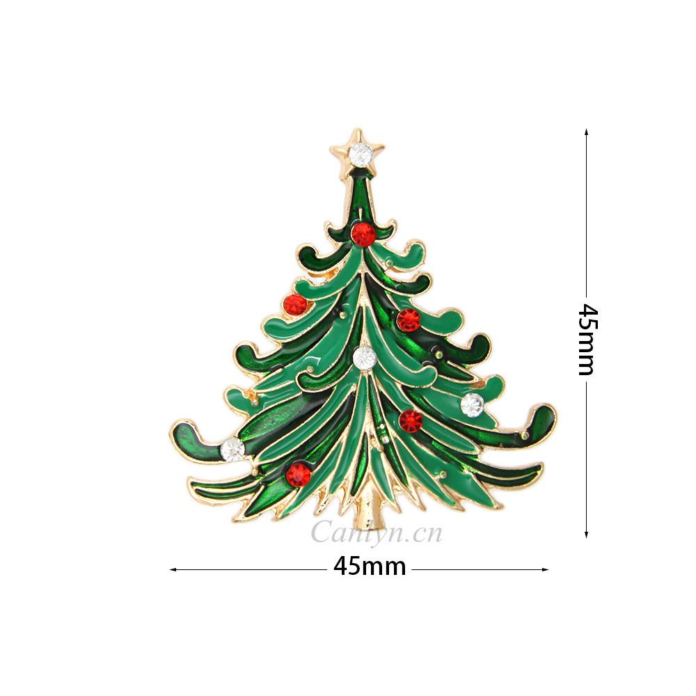 ٩(^‿^)۶Rhinestone colorido Navidad árbol christma regalo barato ...
