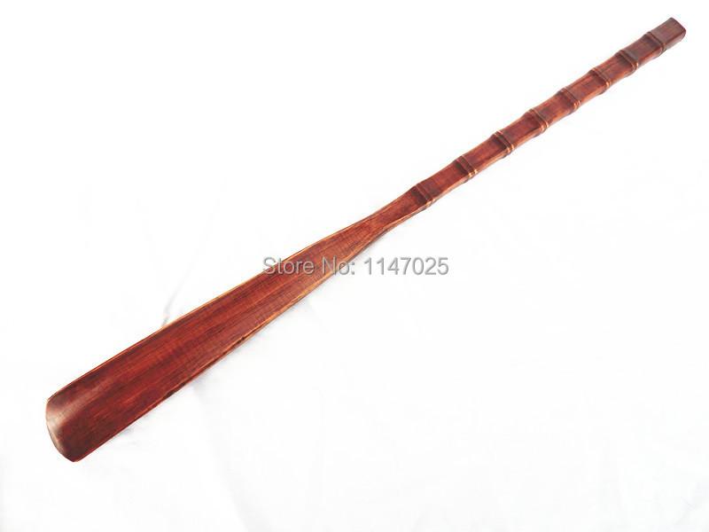 Chausse-pied 60 cm Long Blanc//Bordure Rouge Long manche