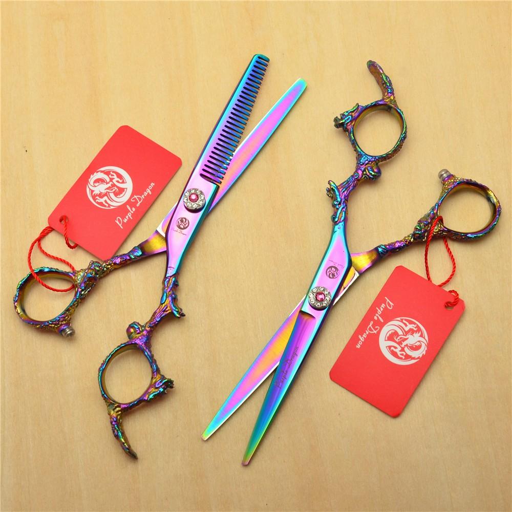ღ Ƹ̵̡Ӝ̵̨̄Ʒ ღ6\'\' 17.5cm Japan 440C Professional Human Hair Scissors ...
