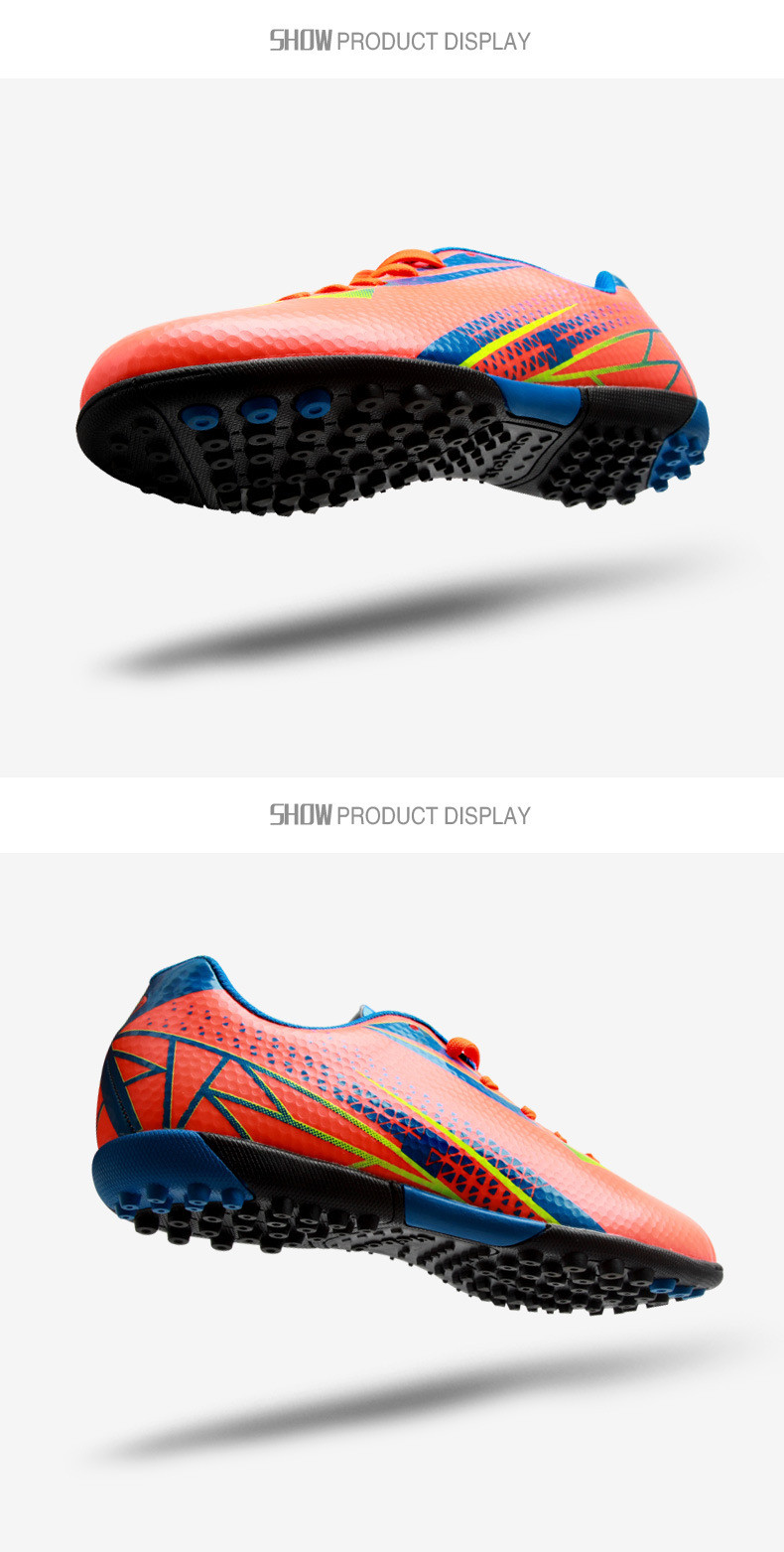 new soccer shoes boots futsal chaussures foot mens indoor football boots voetbalschoenen football cleats soccer shoes 3 colorsusd 35 99 pair  [ 790 x 1563 Pixel ]