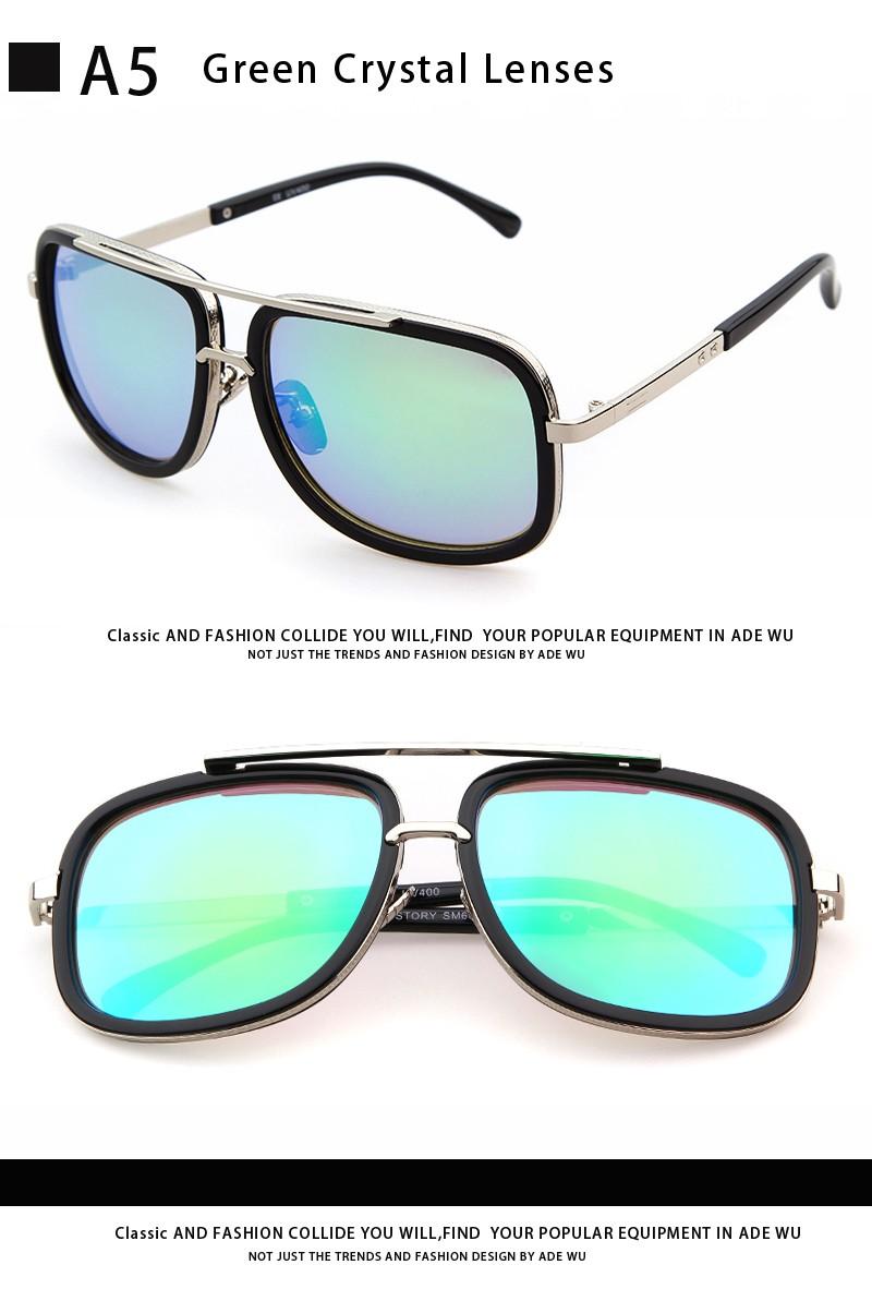 b173555762bce ADE WU Óculos De Sol Dos Homens Das Mulheres Marca De Luxo Designer de Gradiente  óculos de Sol ou do Sexo Masculino Óculos de Sol Para Mulheres UV400 óculos  ...
