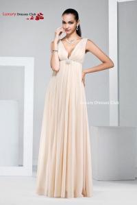Popular Champagne Long Bridesmaid Dresses Plus Size 2015 ...