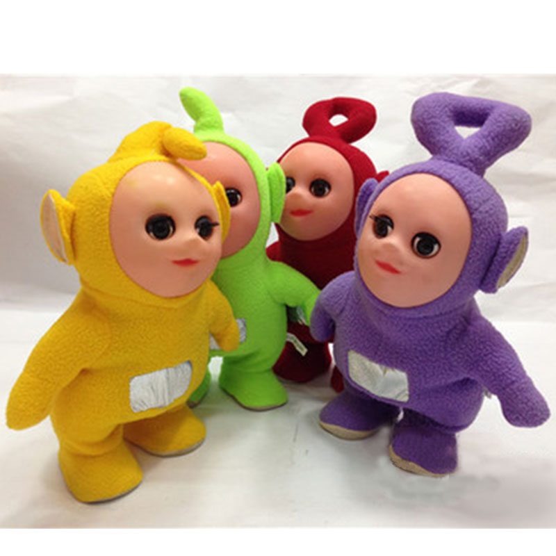 12 Walkable Singing Teletubbies Stuffed Interactive Toy