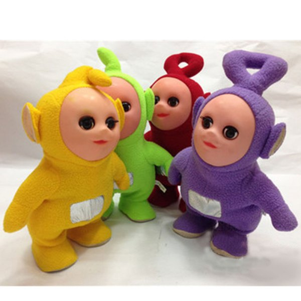 12'' Walkable Singing Teletubbies Stuffed Interactive Toy