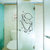 Shower Door Decoration Promotion