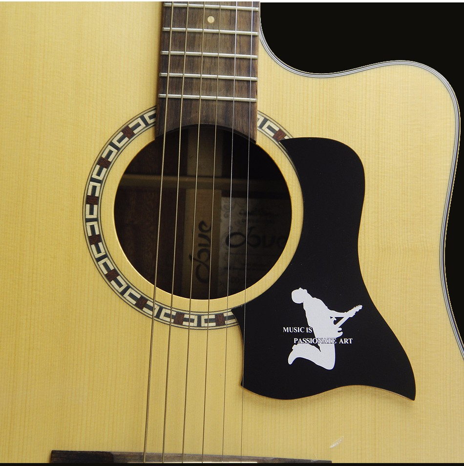 Guitar Assembly Accessories Guitar Pickguard 40 41 inch Acoustic ...